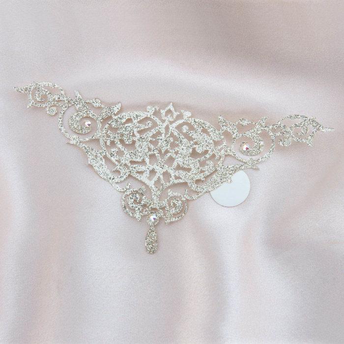 bijoux de peau alhambra or fond satin