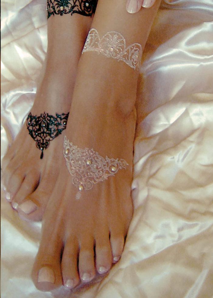 Tattoo Paillettes Auto-adhésif Alhambra