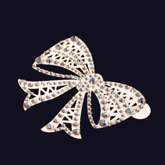 bijoux de peau strass alice blanc