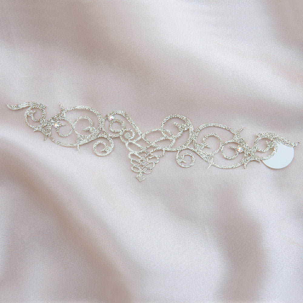 bijoux de peau cordoba or fond satin