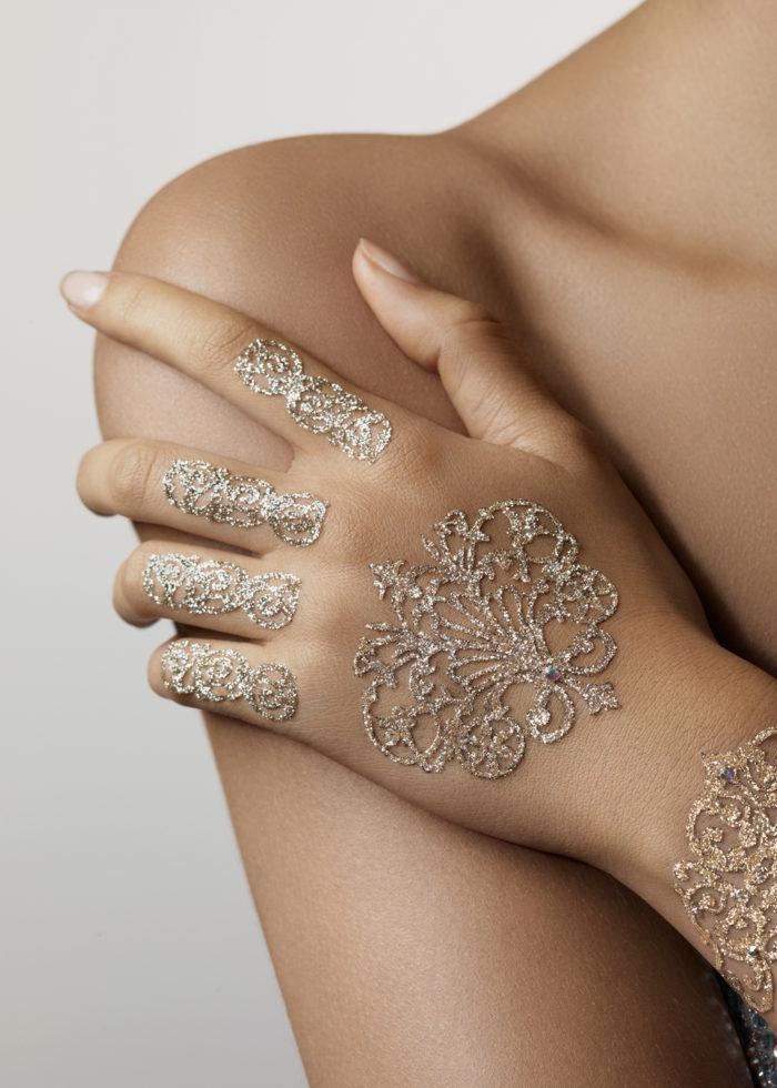 Tattoo Hénné Fantasia HandKit bijoux de peau mariage islam