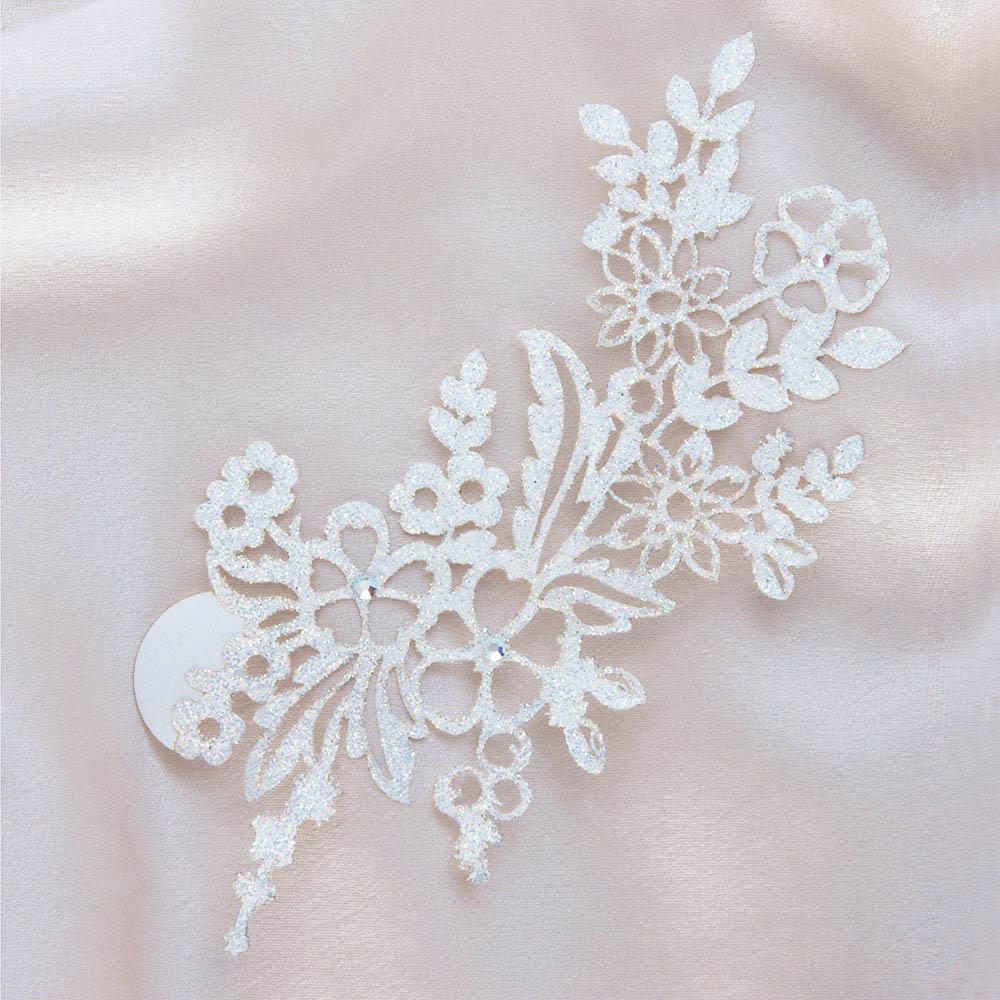 bijoux de peau jaipur blanc fond satin