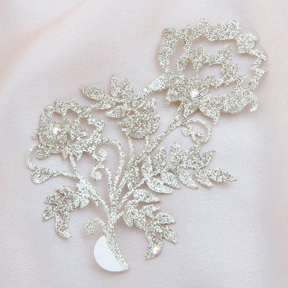 bijoux de peau kashmira or fond satin
