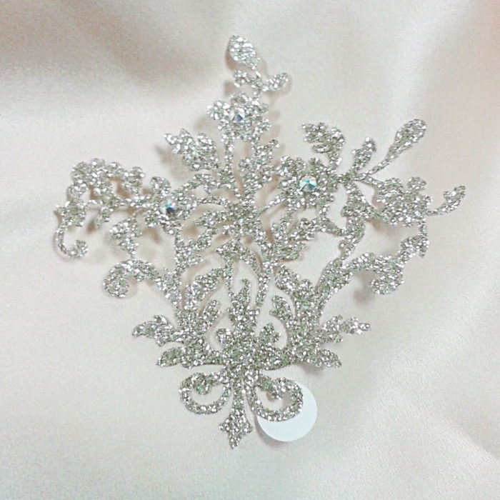 bijoux de peau lady jane or fond satin