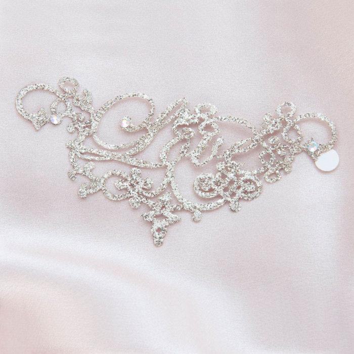 bijoux de peau love or fond satin