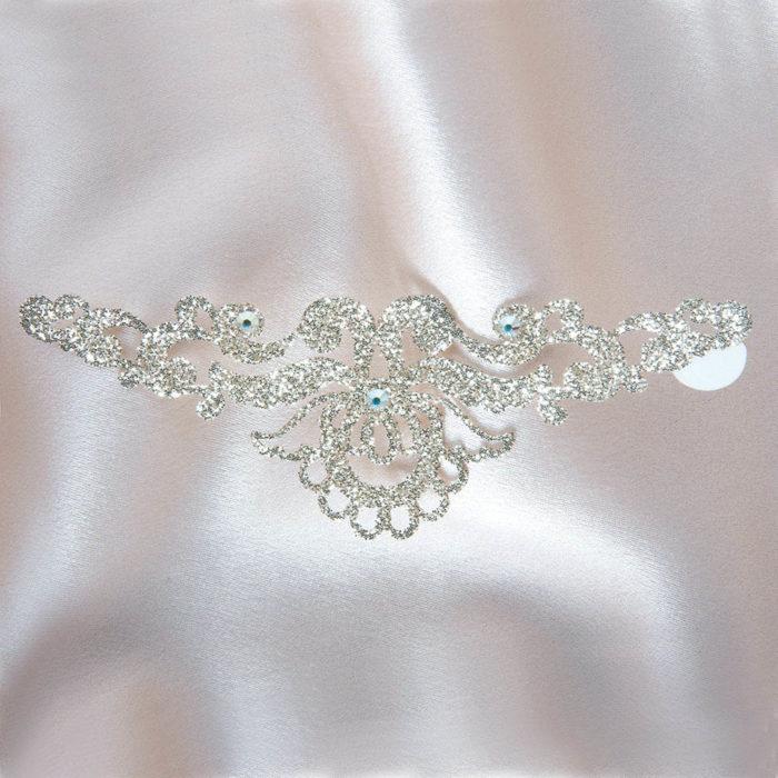 bijoux de peau magic lotus or fond satin