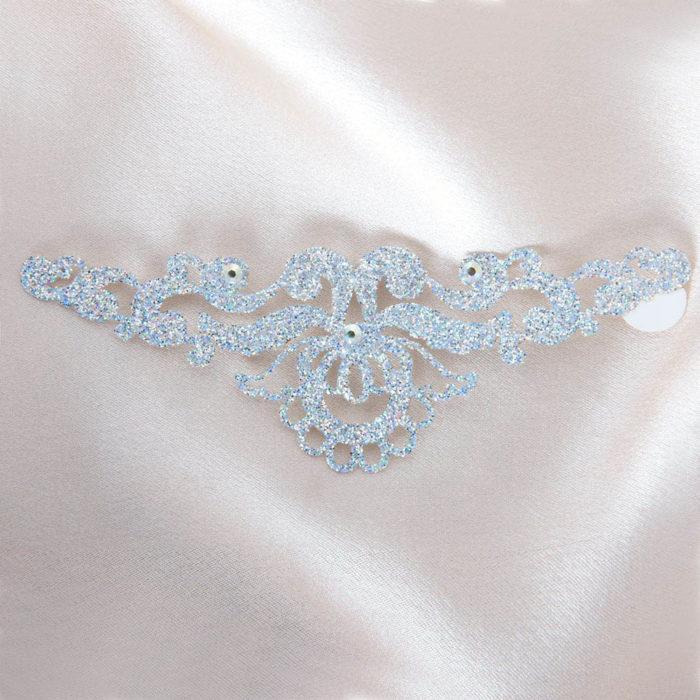bijoux de peau magic lotus argent fond satin