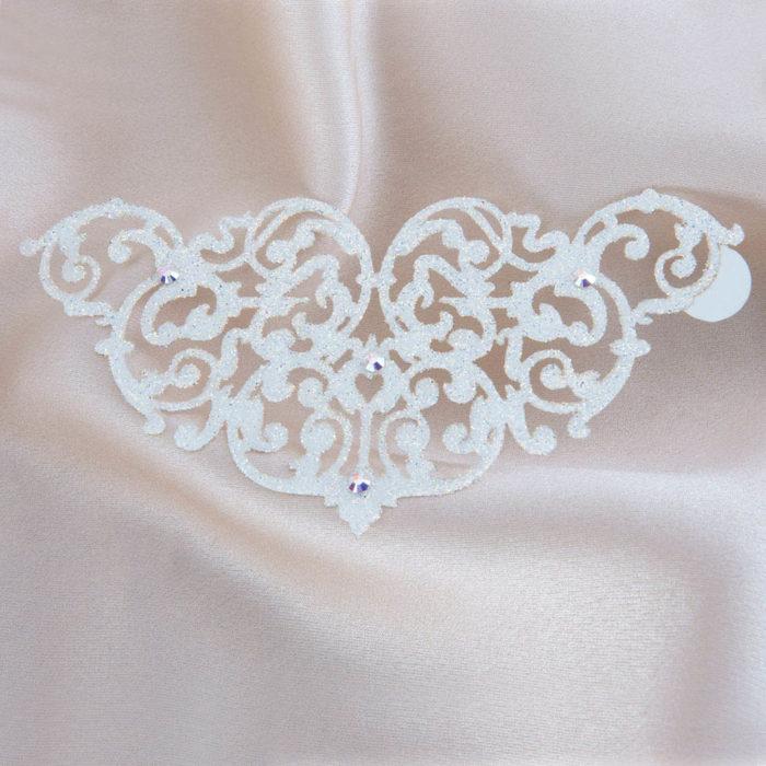 bijoux de peau marbella blanc fond satin