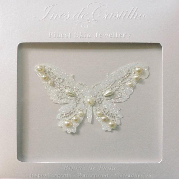 coffret bijoux de peau mariage papillon