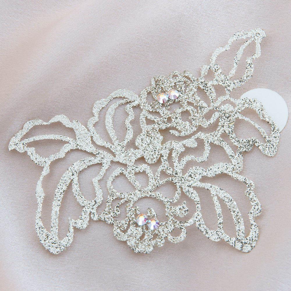 bijoux de peau queen elisabeth or fond satin