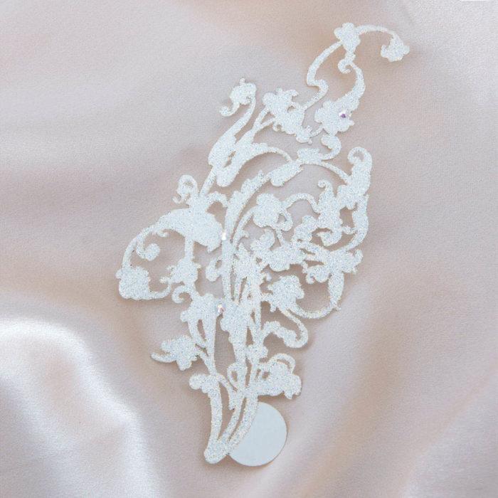 bijoux de peau kaina blanc fond satin