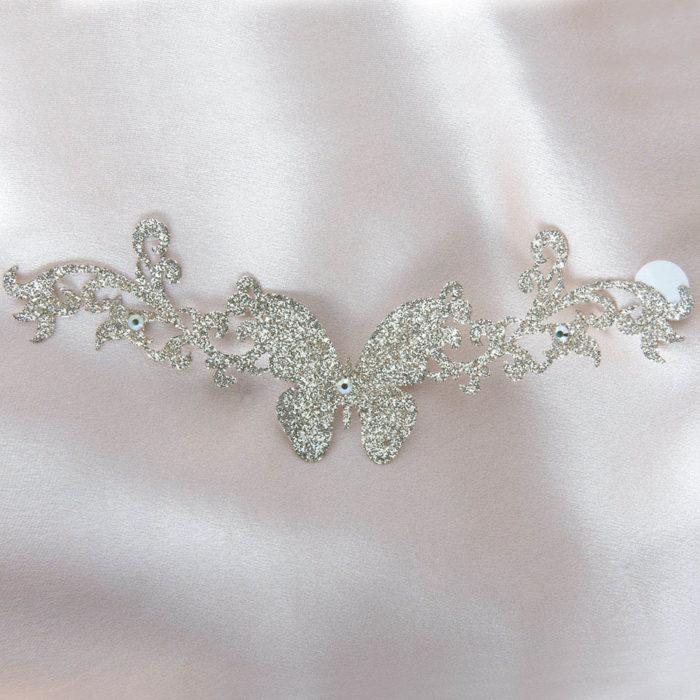 bijoux de peau shanghai girl or fond satin