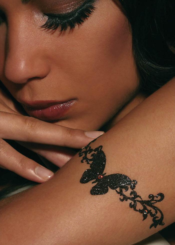 bijoux de peau shanghai girl noir porté