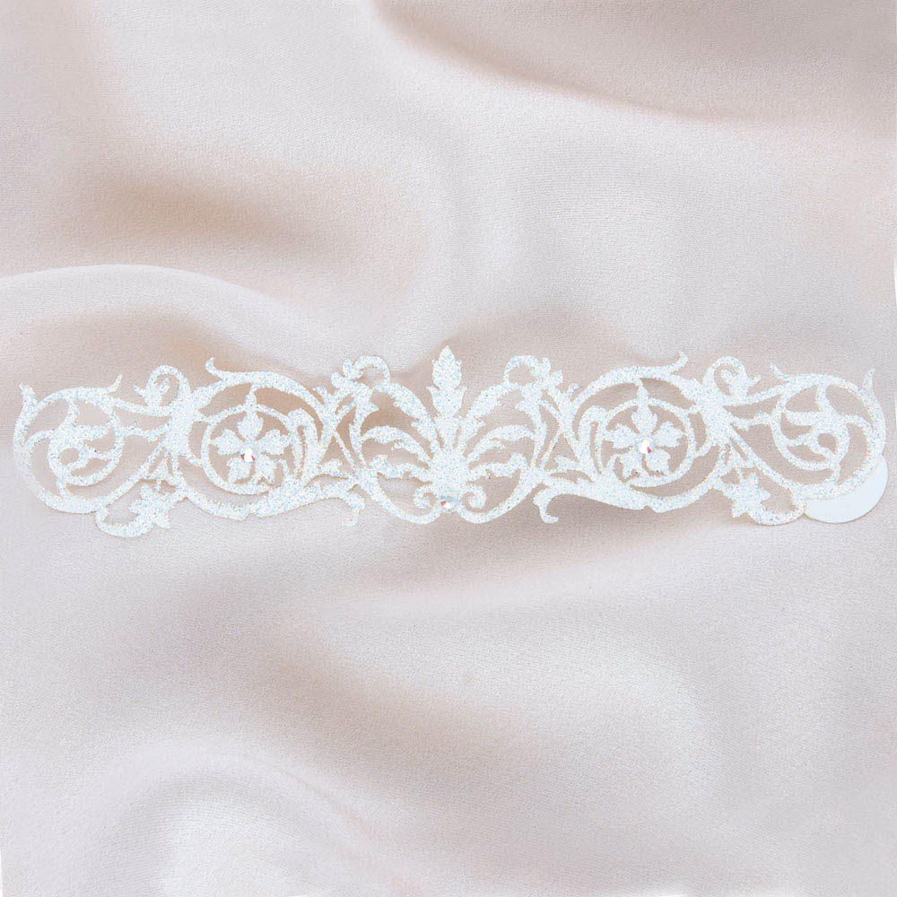 bijoux de peau sheherazade blanc fond satin