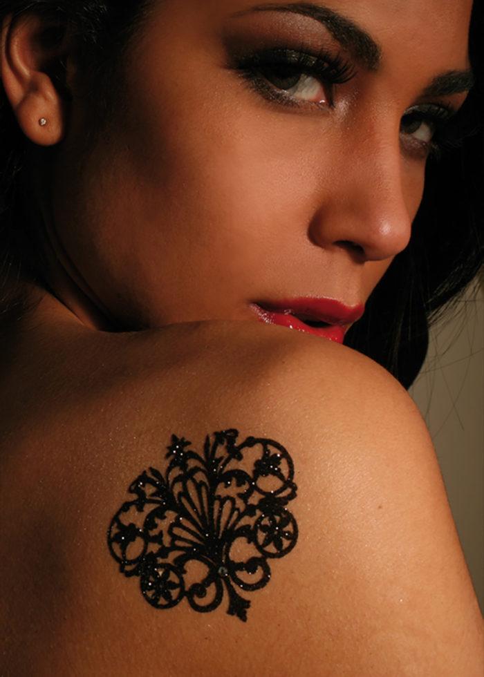 Tattoo Bijoux Paillettes Versailles