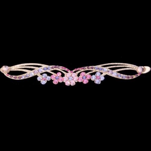Bracelet Adhésif Strassé Violetta rose