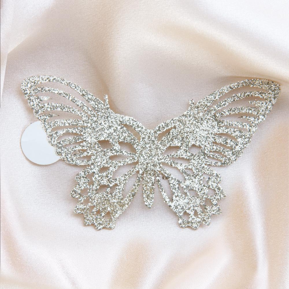 bijoux de peau dorés Papillon Adhésif Strass Zéphyr