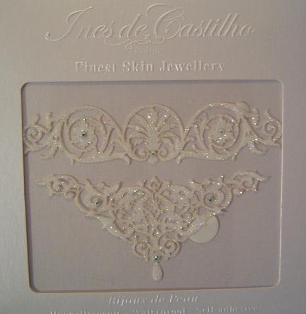 coffret bijoux de peau mariage bracelet arabesque