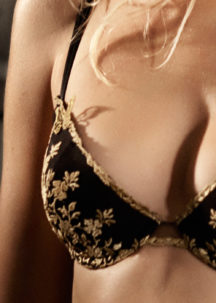 SEXY PUSH UP GOLD BRODERIE