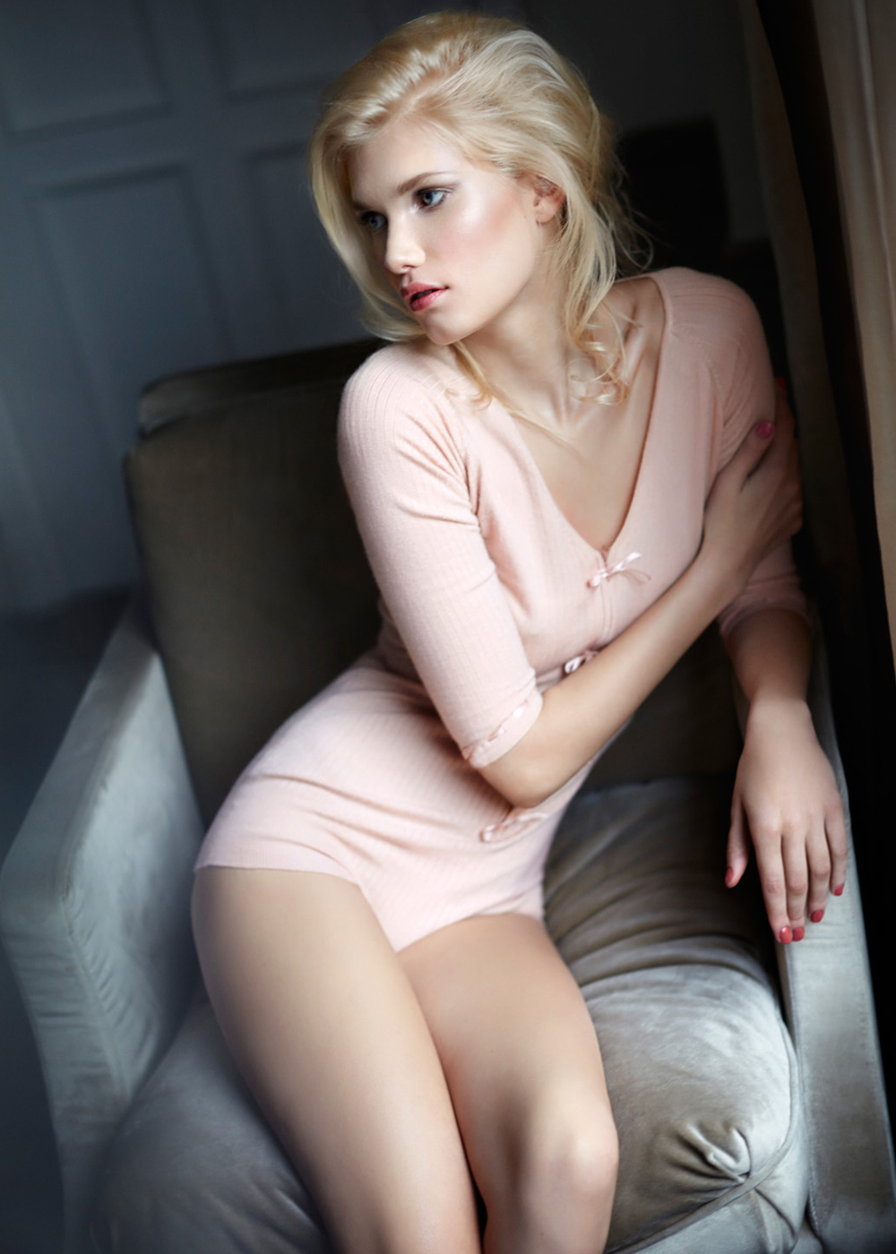 Lingerie sexy Body Cachemire - BEBE